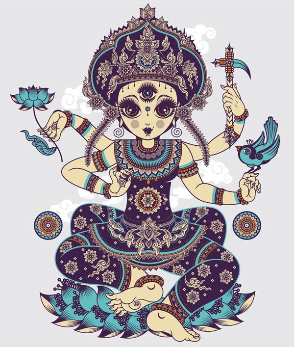 индонезийская богиня