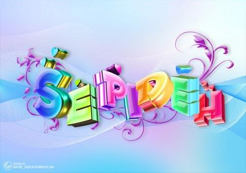 яркие типографические шрифты