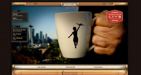 Сайт для кофе