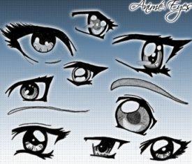 Глаза в стиле Аниме