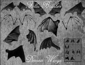 Крылья демонов и летучих мышей