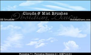 22 кисти облаков