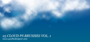 25 кистей облаков