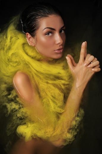 насыщенный желтый
