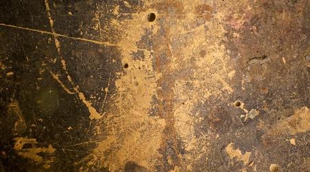 Старая деревянная фанера