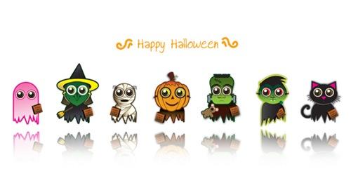Симпатичные иконки под Хеллоуин