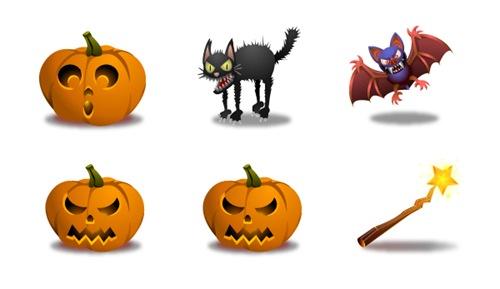 19 Хеллоуин иконок для Windows, Vista и Linux