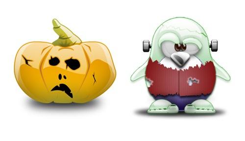 5 Хеллоуин иконок в формате .png и .ico
