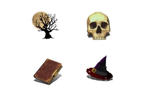 11 иконок вещей ведьм для вашего монитора