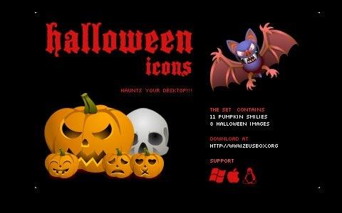 Графика и тыквы под Хеллоуин