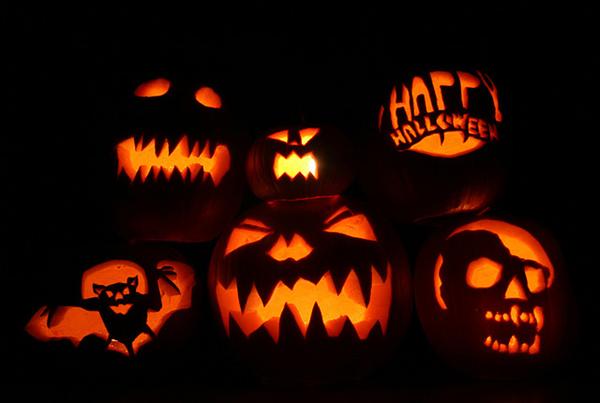 Хеллоуинские тыквы
