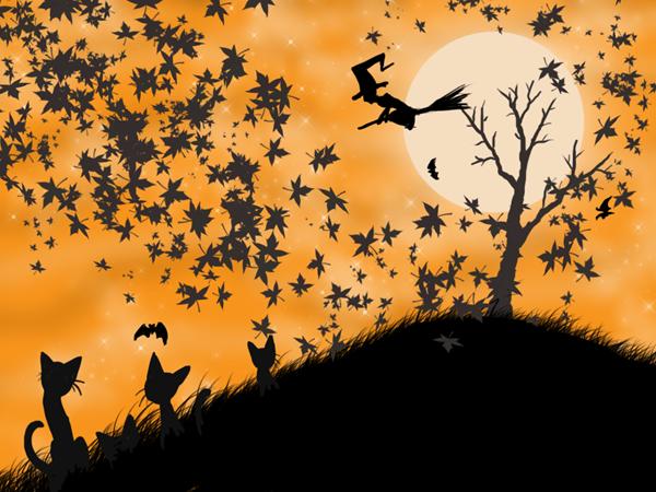 Обои под Хеллоуин