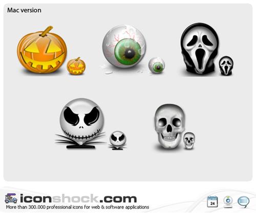 Виста иконки под праздник Хеллоуин