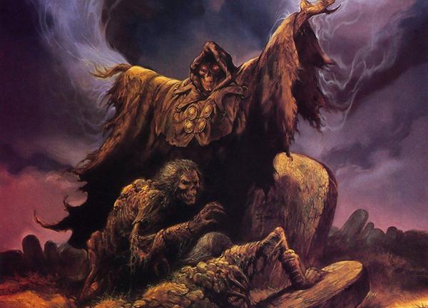 Обои с иллюстрацией демонов