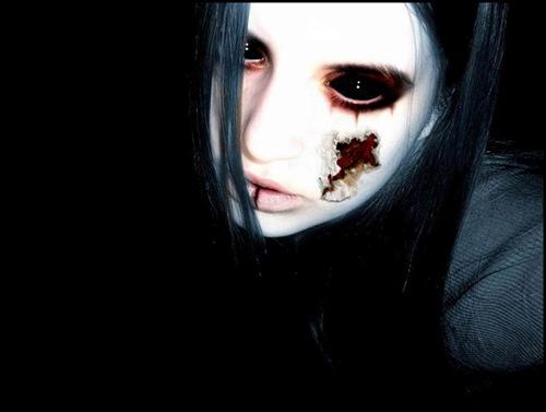 Раненые черные глаза