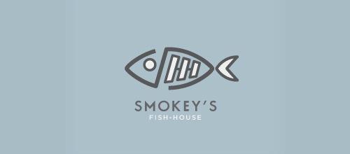 Рыбка на логотипе