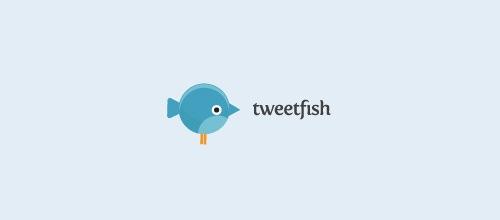 Рыбка в виде птицы