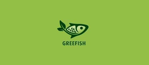 Рыбка с элементами природы