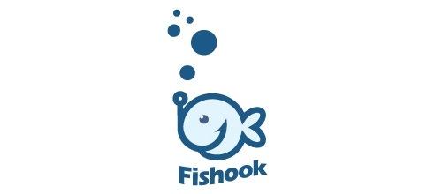 Забавная иллюстрация рыбки