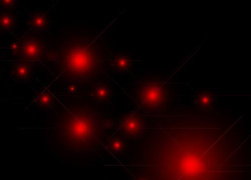 5 кистей вспышек света