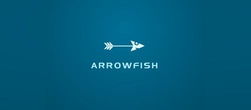 Рыбка в виде стрелы