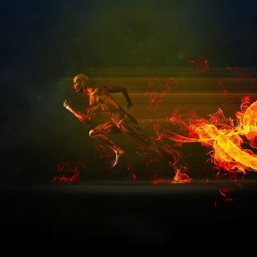 Бегущий огонь