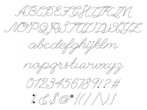 Прописной шрифт League Script Thin