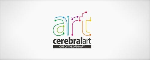 разноцветная типографика