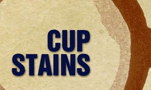 Пятна от чашки с кофе
