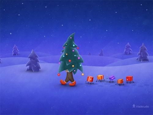 Путешествие Рождественской елки