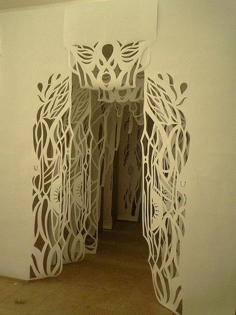 Бумажный тоннель