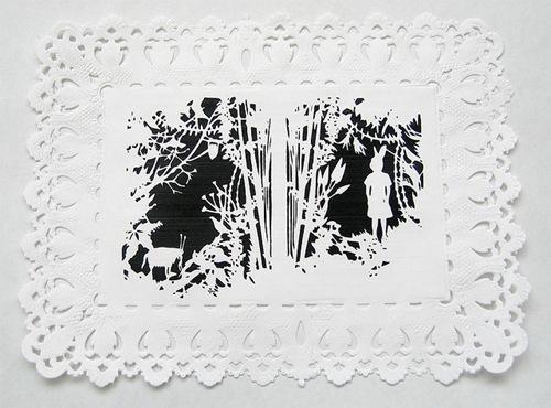 Белая картина