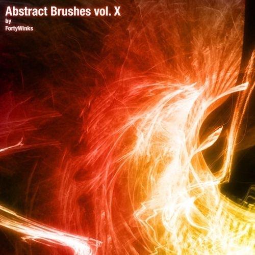 Набор абстрактных кистей