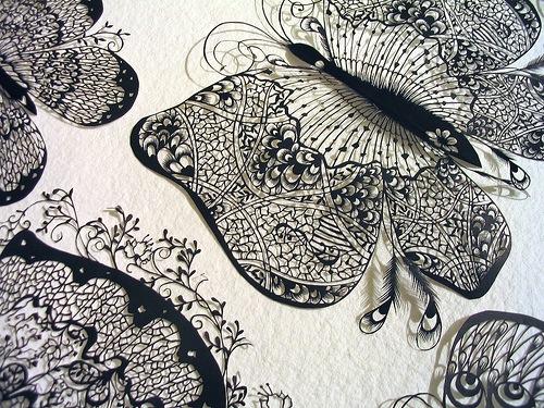 Узорные бабочки