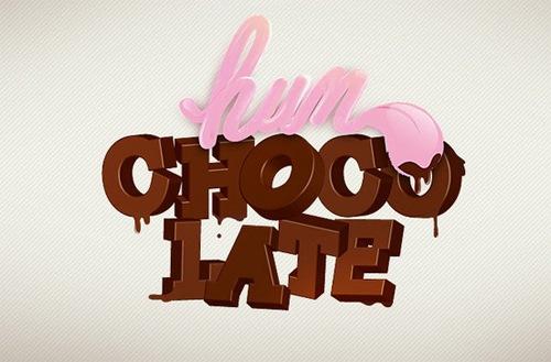 Шоколадная жвачка