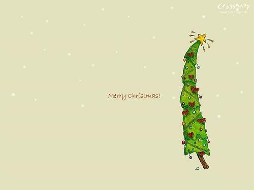 Иллюстрация Рождественской елки