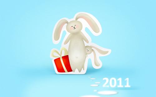 Новогодние зайки 2011