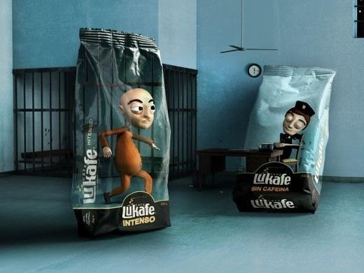 Творческие упаковки с кофе