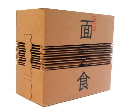 Необычная раскладывающаяся коробка