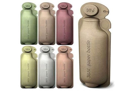 Бумажная бутылка