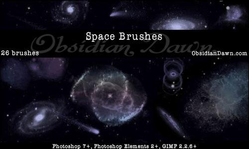 Кисти космоса для Фотошопа