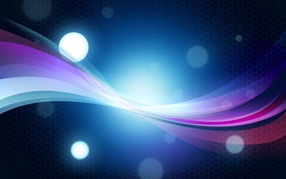 Создайте абстрактный яркий фон