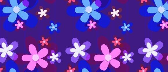 Яркий милый цветочный фон