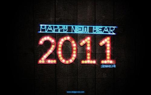 Новогодние обои 2011