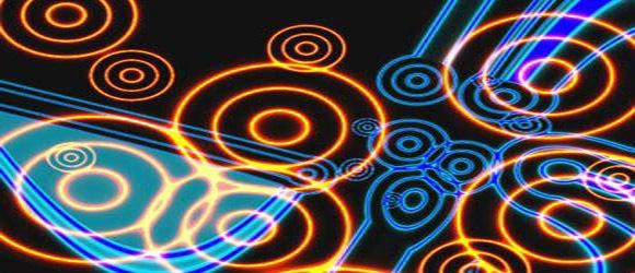 Создайте фон с эффектом диско кругов света