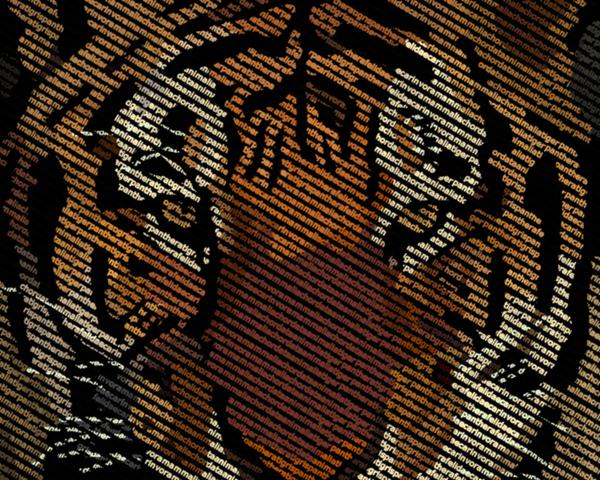 Типографика: Тигр