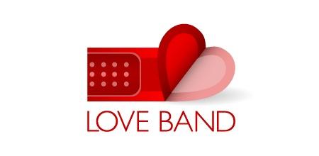 логотип с сердцем