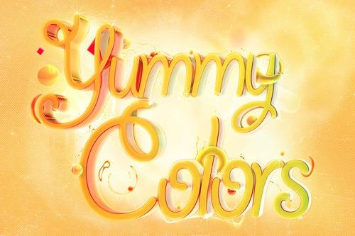 Вкусные цвета