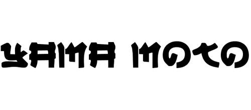Креативный шрифт