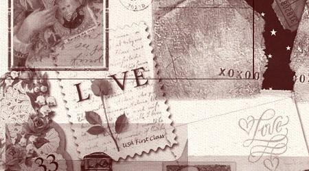 24 винтажные кисти ассоциирующиеся с любовью